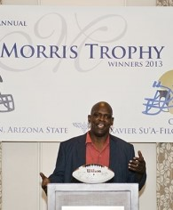 Roy Foster at the 2013 Morris Trophy lunch.