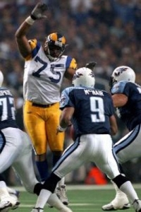 D'Marco Farr in Super Bowl XXXIV
