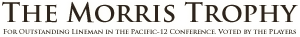 The Morris Trophy Sticky Logo